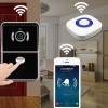 Wi-Fi/LAN IP камера видео домофон AWV04P-HD и звънец
